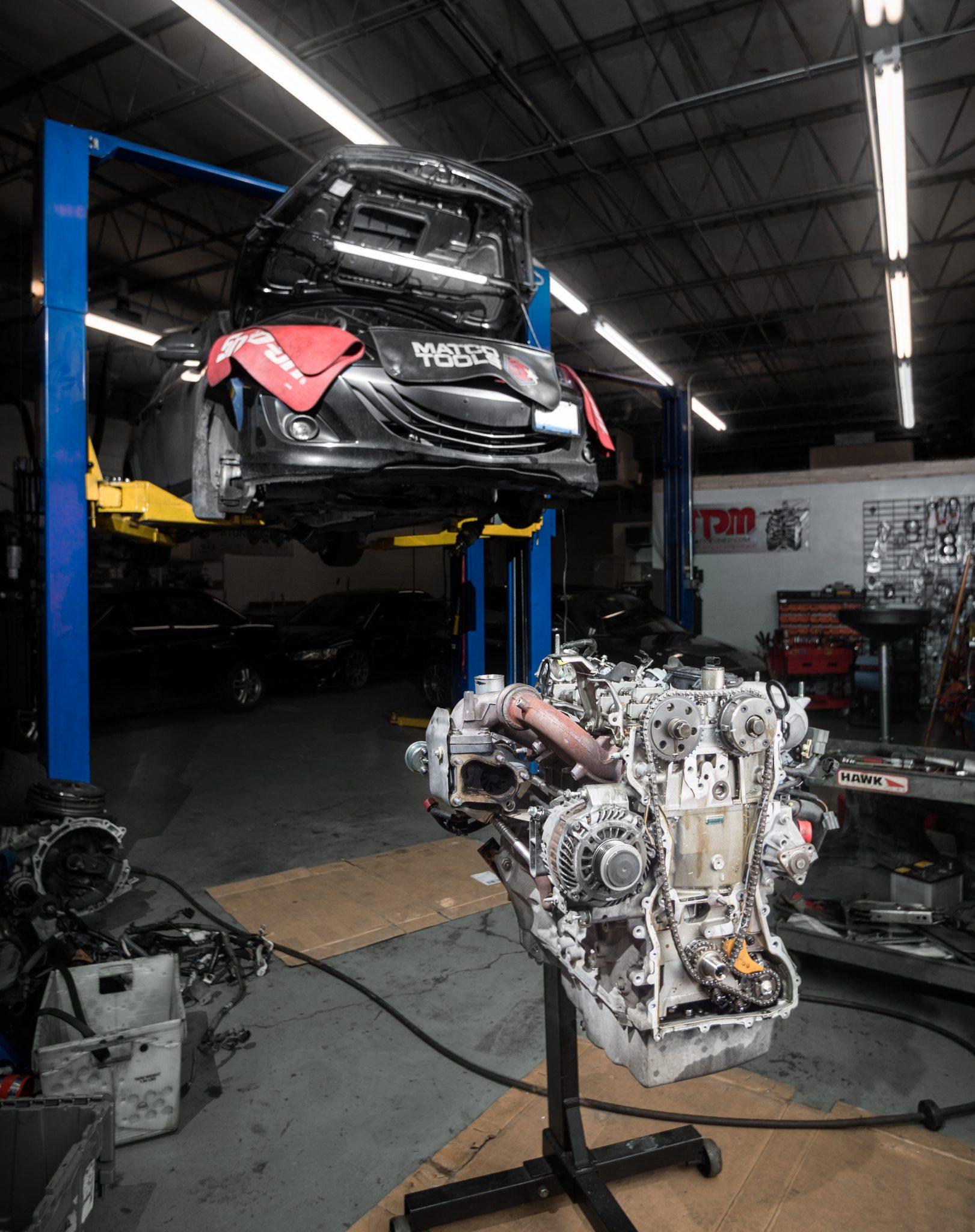 Mazda speed 3 motor rebuild